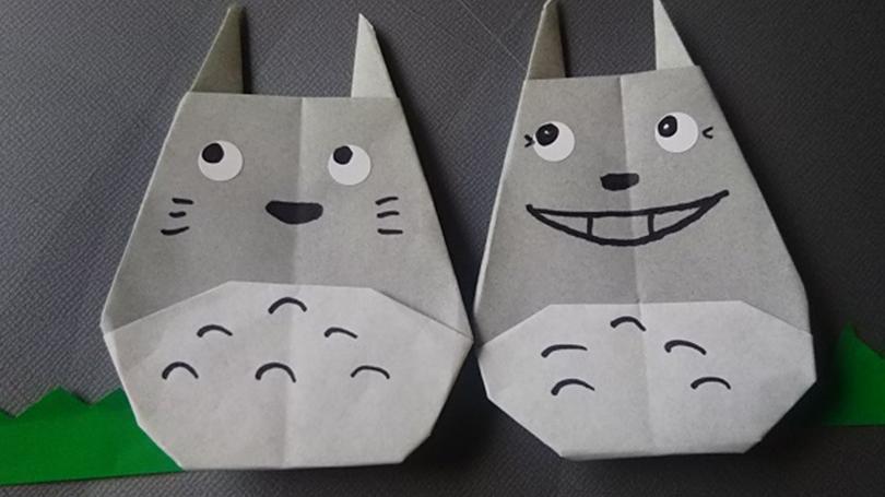 折り紙でトトロを作ってみよう!幼児も喜ぶジブリシリーズ