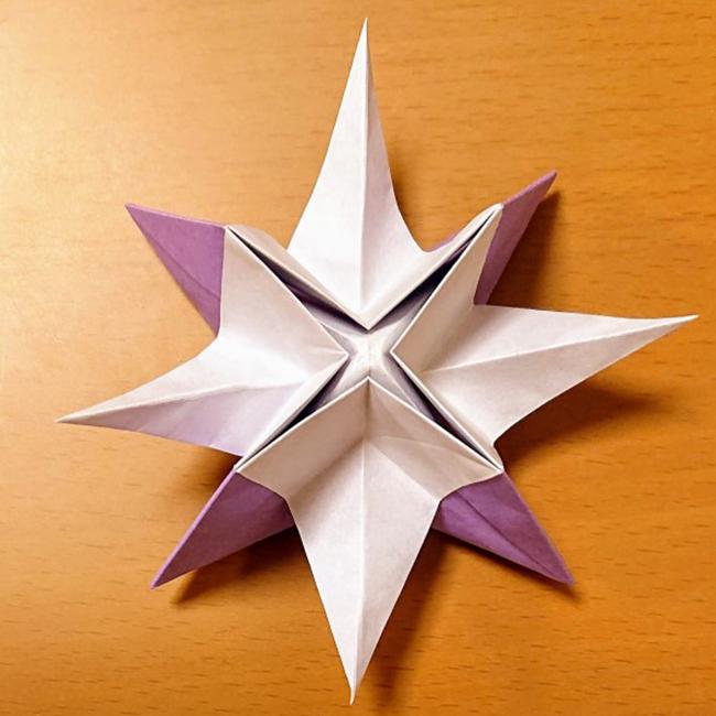 形を整えたら星の完成です。