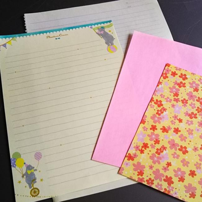 お好きな折り紙、便箋、メモ用紙など
