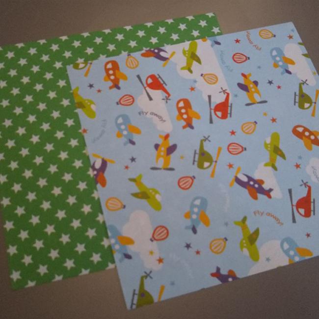 お好きな折り紙・・・1つの箱で2枚使用